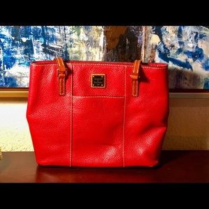 Dooney & Bourke Red Tote